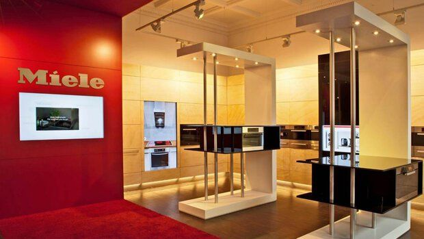 Digital Signage solutions for Miele