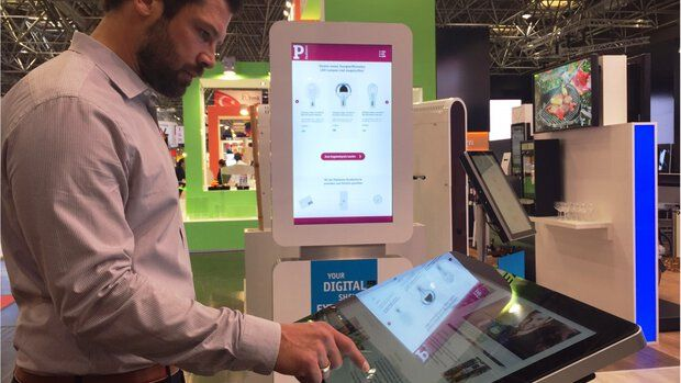 xplace Feedback Terminal at EuroShop 2017