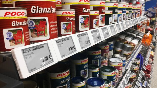 Electronic shelf labels for various industries