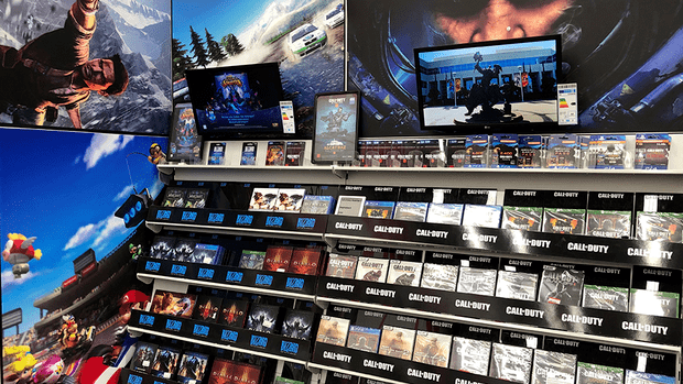 Digital signage concept by Activision Blizzard