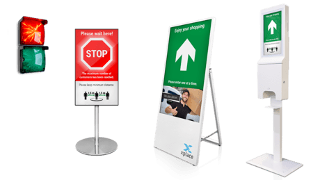 COVID-19 solutions Smart Entrance Manager hardware variants