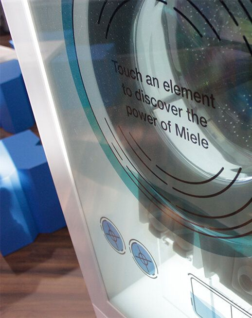 virtual washing machine for Miele