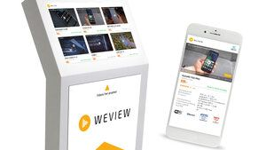 WeView - online reviews at the POS