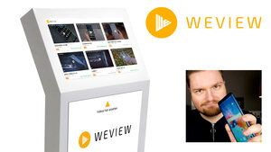 WeView consumer reviews at the POS