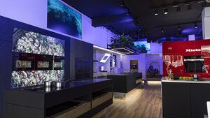 Miele SMEC Amsterdam lightening concept digital Signage