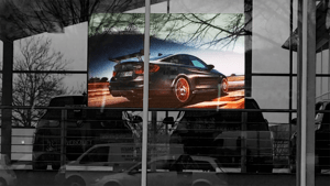 LED Wall, Video Wall Instore TV Digital Signage automobile