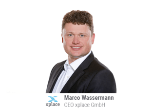 xplace-CEO Marco Wassermann