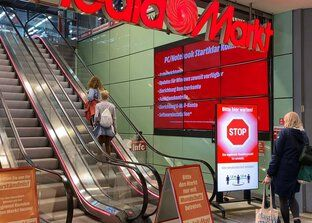 Access control Smart Entrance Manager at MediaMarkt